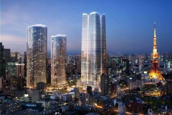 虎ノ門・麻布台エリアに日本一の高さ330mを誇る超高層ビルが誕生 - 商業施設やオフィスを内包