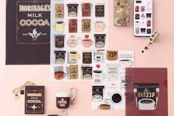 アフタヌーンティー・リビング「森永ココア」歴代パッケージの限定雑貨、ココアの香りのハンドクリームなど