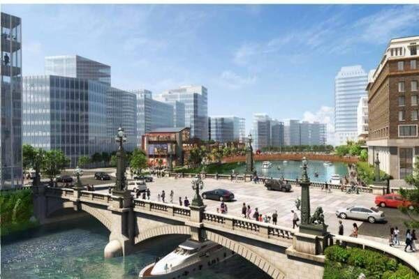 東京・日本橋の再開発「グレーター日本橋」コレド室町や日本橋高島屋周辺、水辺に広がる新たな街