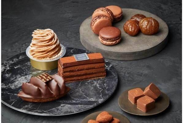 ジャン=ポール・エヴァン「マロン&ナッツ」新作ショコラ、ピスタチオ×ビターチョコレートのケーキなど