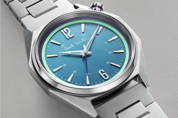 ポール・スミスの新作腕時計「オクタゴン」バウハウス着想の八角形ケース、メンズ&ウィメンズで