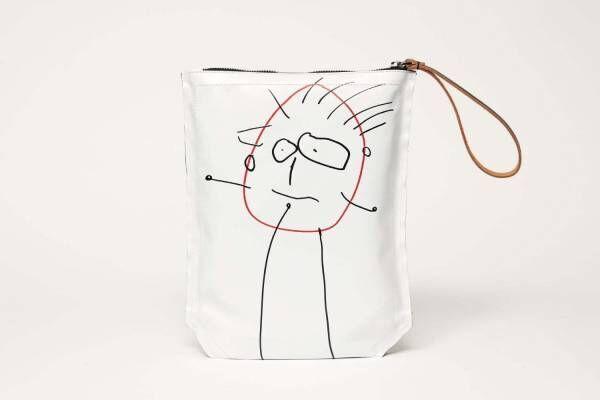 プラン シー限定ショップが銀座三越で、デザイナーの娘が描くイラスト入りバッグや限定ポーチ