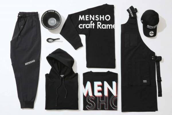 ラーメン店「MENSHO」とジャーナルスタンダードのコラボウェア、新宿Flags店オープン記念