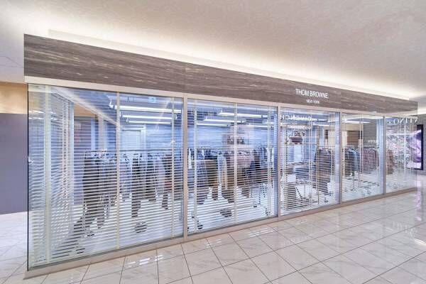 トム ブラウン、大阪・大丸心斎橋に西日本初メンズ・ウィメンズ複合店舗をオープン