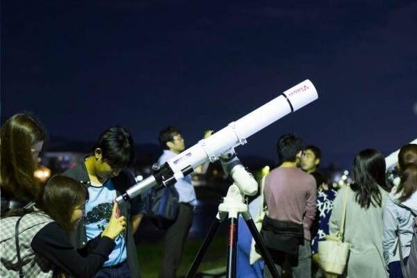 「宙フェス」日本橋で東京初開催 - 天体観測会や星・宇宙モチーフのアクセサリー販売