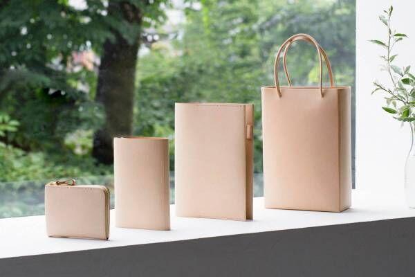土屋鞄製造所、ヌメ革を使った新シリーズ「プレーンヌメ」自然な風合いと経年変化を楽しむトートや財布