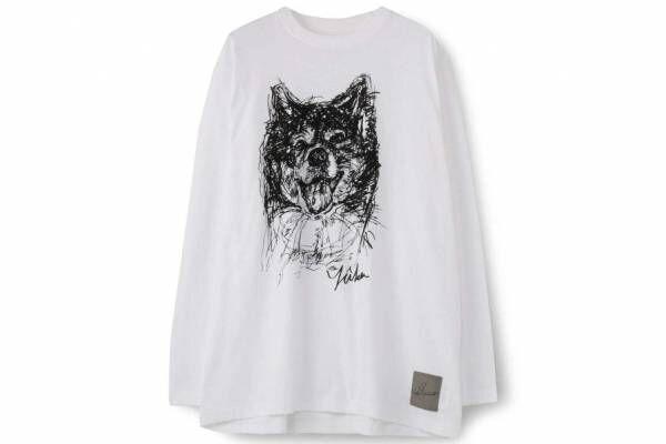 """ヨウジヤマモト""""山本耀司の愛犬""""を描いた限定シャツ&ニット、ウールギャバのニューエラキャップも"""