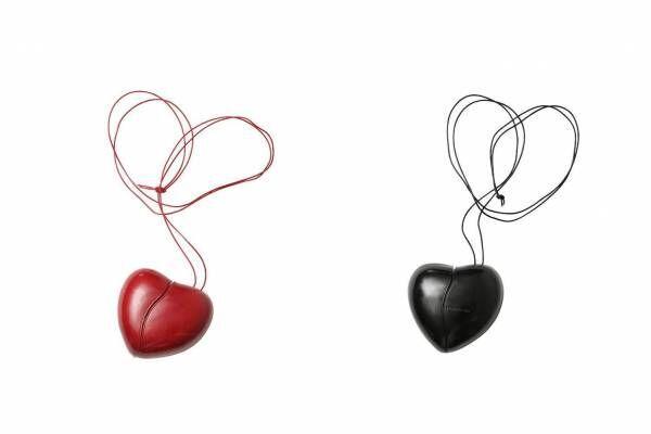 """ビューティフルピープル""""心臓&髪の毛""""イメージの新バッグ、ハート型レザーとボリュームファー"""