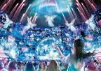 USJの「ユニバーサル・クリスタル・クリスマス」ツリーやイルミネーション、ライブショーが一新