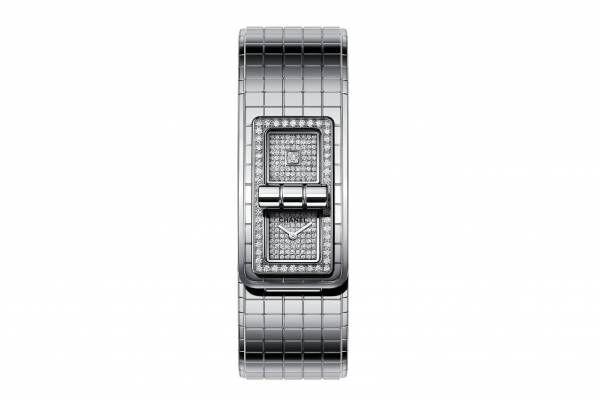 シャネルのウィメンズ腕時計「コード ココ」新作、文字盤にダイヤモンドを