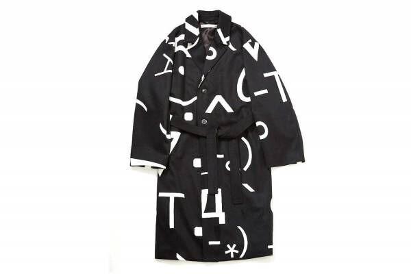"""ソーイ×中村ケンゴ""""メールの顔文字""""モチーフのコートやシャツ、コラージュプリントのジャケットも"""