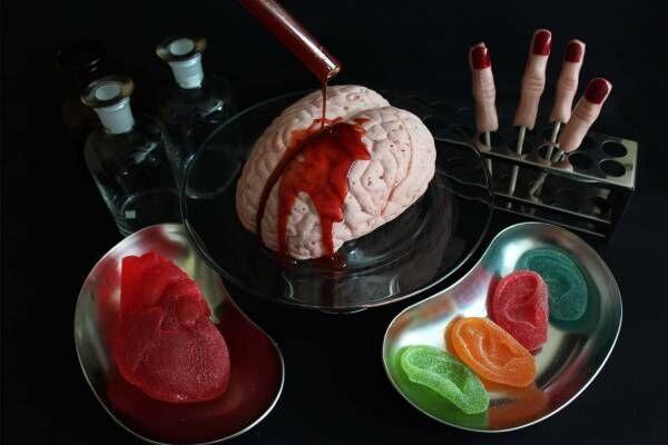 """パパブブレのハロウィン - """"ホラー""""な実物大の心臓グミ&耳グミ、""""脳みそ""""マシュマロも"""