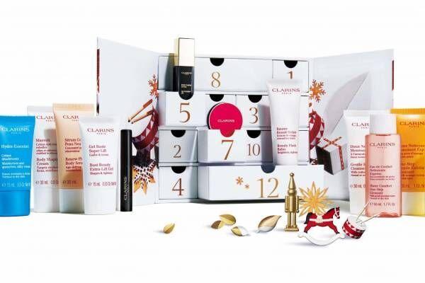 クラランスのクリスマス第2弾 - コスメ12種入りアドベント カレンダーや白クマ&小鳥柄の保湿ケア