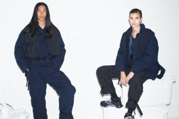 スノーピーク×東京デザインスタジオ ニューバランス、高機能ダウンジャケットやスニーカー