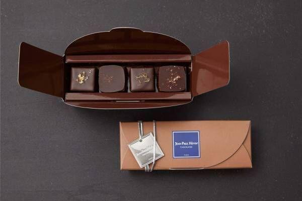 ジャン=ポール・エヴァンのフロマージュ×チョコレート、青かびチーズ×クルミのボンボンショコラなど