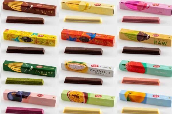 「キットカット ショコラトリー」が商品リニューアル、4つのシリーズで楽しむ新プレミアム キットカット