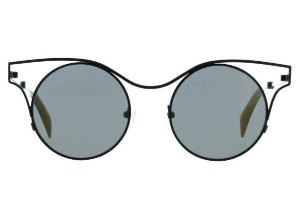 ヨウジヤマモト アイウェア約60種のメガネ・サングラスが新宿に、ミニマルなメタルフレームなど