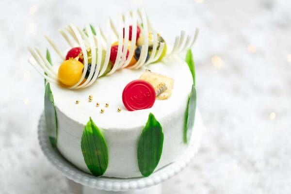 """アンダーズ 東京のクリスマスケーキ、ルビーチョコレートのモンブランや""""白雪""""カラーのムースケーキ"""