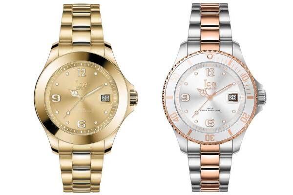 アイスウォッチの腕時計「アイス スティール」にスモール&エクストララージの2サイズが新登場