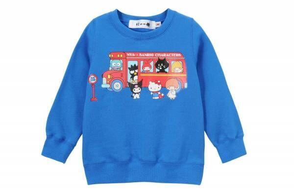"""にゃー×サンリオキャラクターズ - ハローキティやマイメロディと""""おでかけ""""スウェット&Tシャツ"""