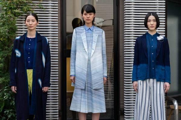 """まとふ 2020年春夏コレクション、徳島に遺された""""本物の藍色""""をワードローブへ"""