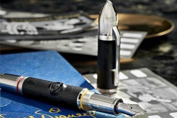 モンブラン、ウォルト・ディズニーを称える限定ボールペン&万年筆 - ボディとキャップに隠れミッキー
