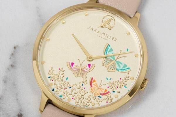 """英国発「サラミラーロンドン」""""蝶が舞う""""新作腕時計、ロンドンの世界遺産キューガーデンに着想"""