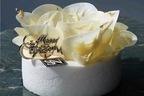 """阪急うめだ本店のクリスマスケーキ、花咲く純白のケーキや""""大聖堂""""モチーフなど"""