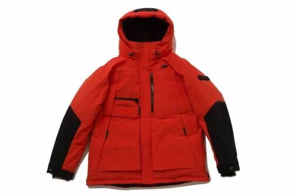 ニューバランスの新作ダウンジャケット、リフレクターを配した軽量&高保温性のアウター