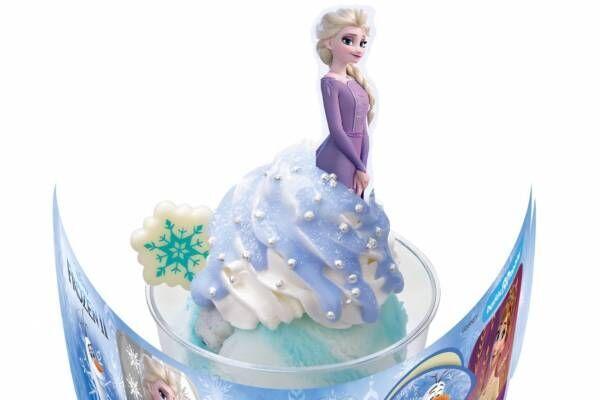 サーティワンから『アナと雪の女王2』限定サンデー、エルサ・アナ・オラフをモチーフに