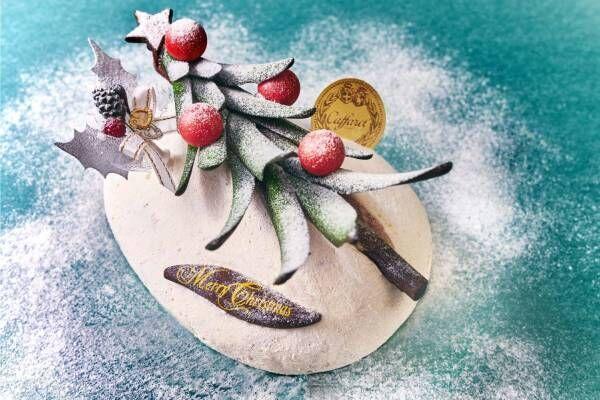 """カファレルのクリスマス2019、""""ツリー型チョコレート""""のリコッタチーズのムースケーキなど"""