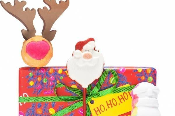 ラッシュのクリスマスギフト、サンタのバブルバーやスノーマン型バスボムなど全24種類