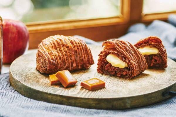 焼きたてカスタードアップルパイ専門店「RINGO」ココア風味のサクサクパイに濃厚キャラメルリンゴを