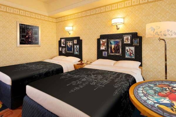 ディズニーアンバサダーホテル「キングダム ハーツ」の特別ルーム再び!キーブレードが鍵、新デザインも