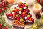 """キル フェ ボン""""森のクリスマスパーティー""""がテーマのクリスマスケーキ2019、フルーツたっぷり2種"""