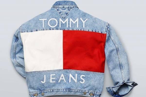 トミー ジーンズのデニムジャケットやブルゾン、フラッグ柄を大胆にデザイン