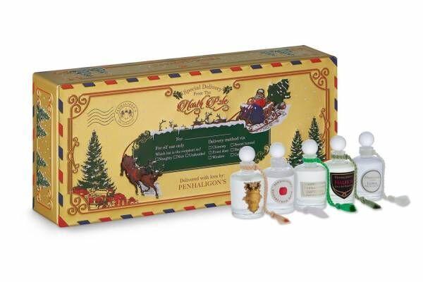ペンハリガンのクリスマスコフレ19年、ミニチュアフレグランスセット&日本初上陸キャンドルも