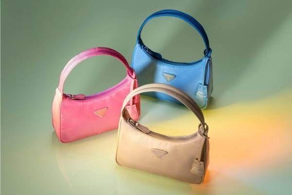 プラダのアーカイブから着想した新作バッグ、伊勢丹新宿店で - 最新シューズやアクセも同時発売
