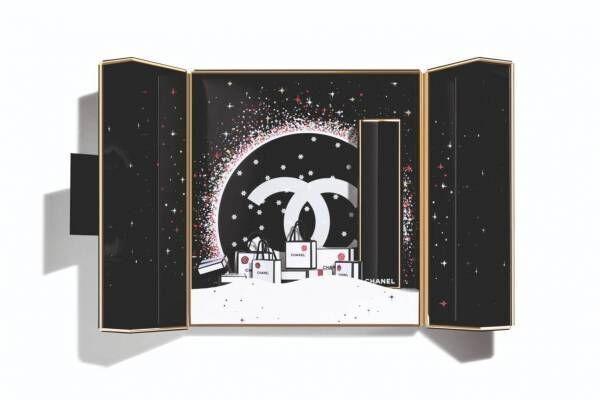 """シャネル19年クリスマスコスメBEST5 - """"完売予想""""リップコフレ&ビジューボタン柄アイシャドウ"""