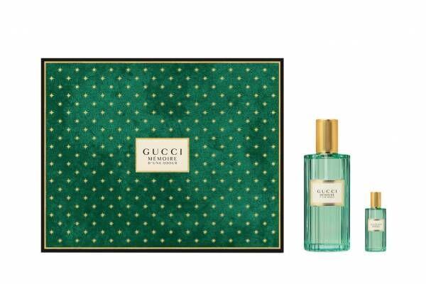 グッチの19年クリスマス限定フレグランスコフレ、カモミール主役の新作香水も仲間入り