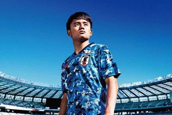 サッカー日本代表2020ホームユニフォームをアディダスが発売 - 久保建英、南野拓実らがビジュアルに