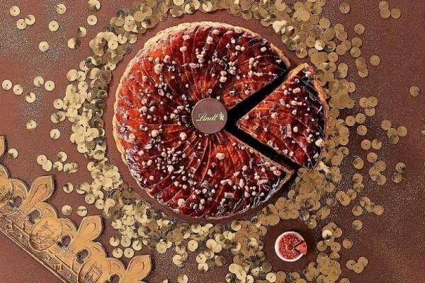 リンツ「ガレット・デ・ロワ」濃厚ガナッシュ×ミルクチョコレートのパイ菓子