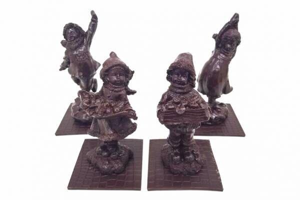 """ジャン-シャルル・ロシューのクリスマス限定チョコレート、""""彫刻""""のショコラや星型ヌガー"""