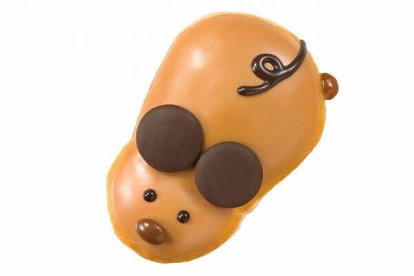 """クリスピー・クリーム・ドーナツ新年限定ドーナツ、20年干支""""ネズミ""""&金粉入りリング型など"""