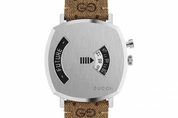 グッチの腕時計「グリップ」「G-タイムレス」新作、ルーレット機能やキャット&ビーモチーフを文字盤に