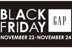 GAPのセールイベント「ブラックフライデー」全店舗で、東京・大阪などではセーター100円企画も