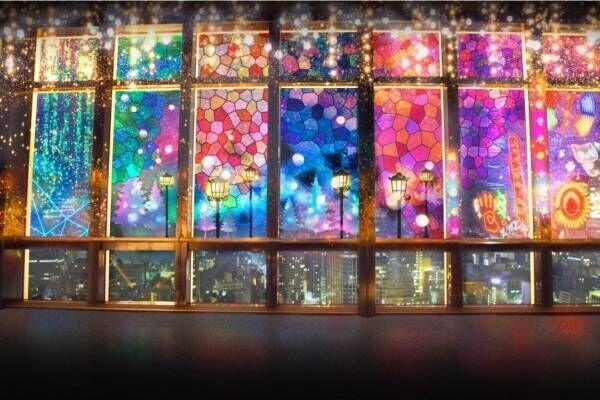 東京タワーのデジタル夜景体験「シティライトファンタジア」ネオンやレーザー光る幻想空間