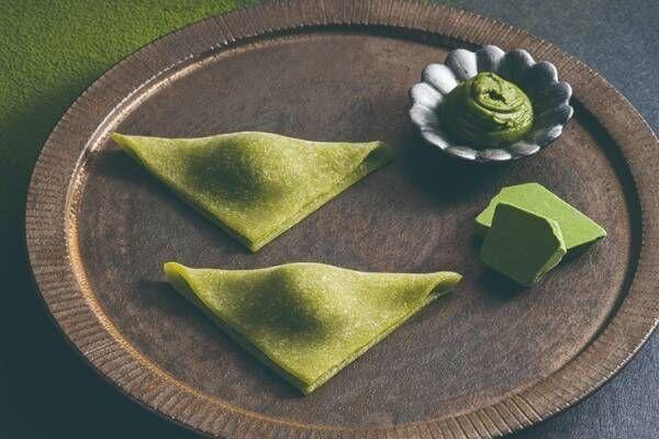 京都銘菓「おたべ」抹茶ショコラのおたべ、なめらか抹茶ガナッシュを生八つ橋に