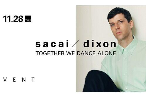 sacai × DJ Dixonのパーティーが再び東京で、限定Tシャツ発売も