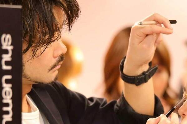 """シュウ ウエムラ""""体験型ストア""""が渋谷パルコに、メイクレッスンや100色以上から選ぶマイパレット作り"""